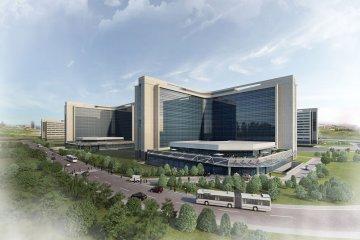 Dünya'nın tek seferde inşa edilen en büyük hastanesi...