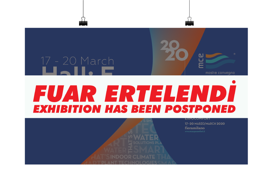 The MCE 2020 Exhibition Has Been Postponed